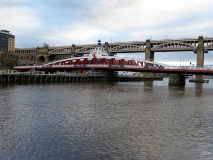 Pivot bridge, Newcastle